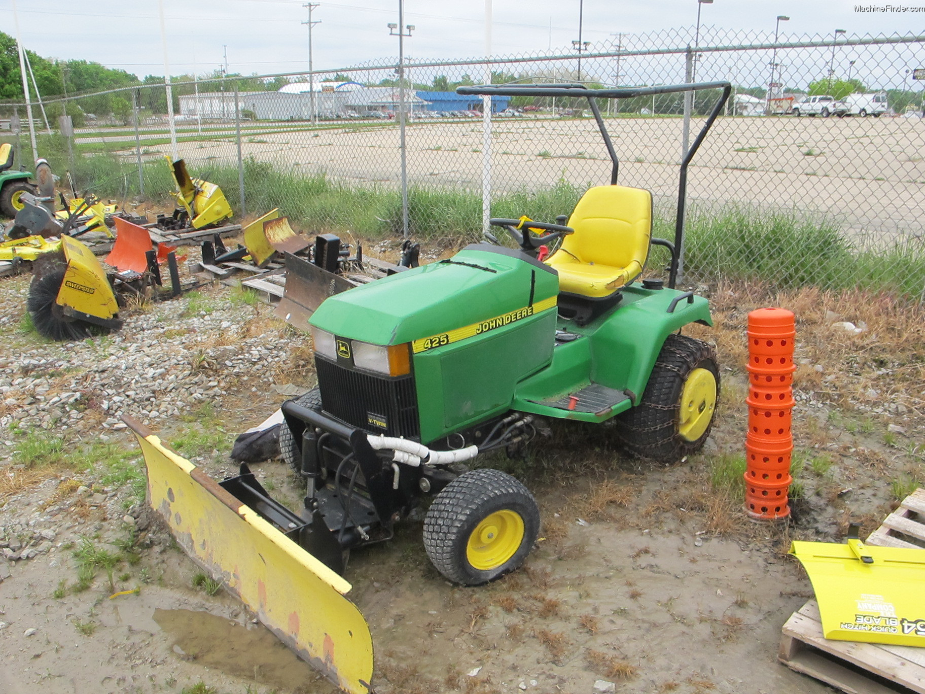 John Deere 415 425 445 455 Front End Loader on john deere 455 front end loader