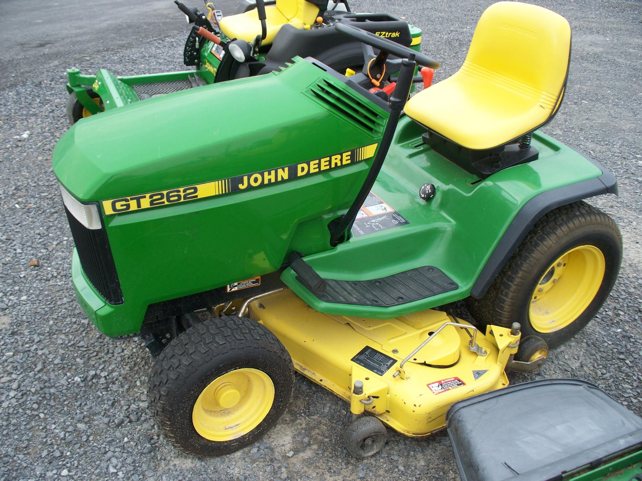 John Deere Gt262 : John deere lawn and garden tractor parts car interior design