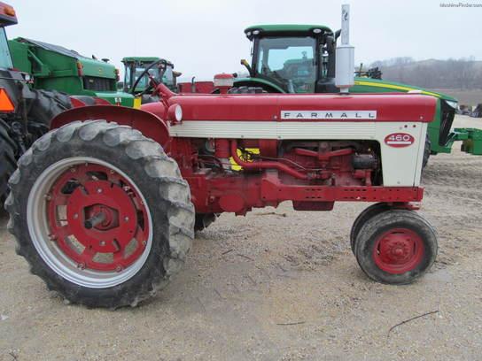 Farmall 460 Parts : Farmall tractors utility hp john