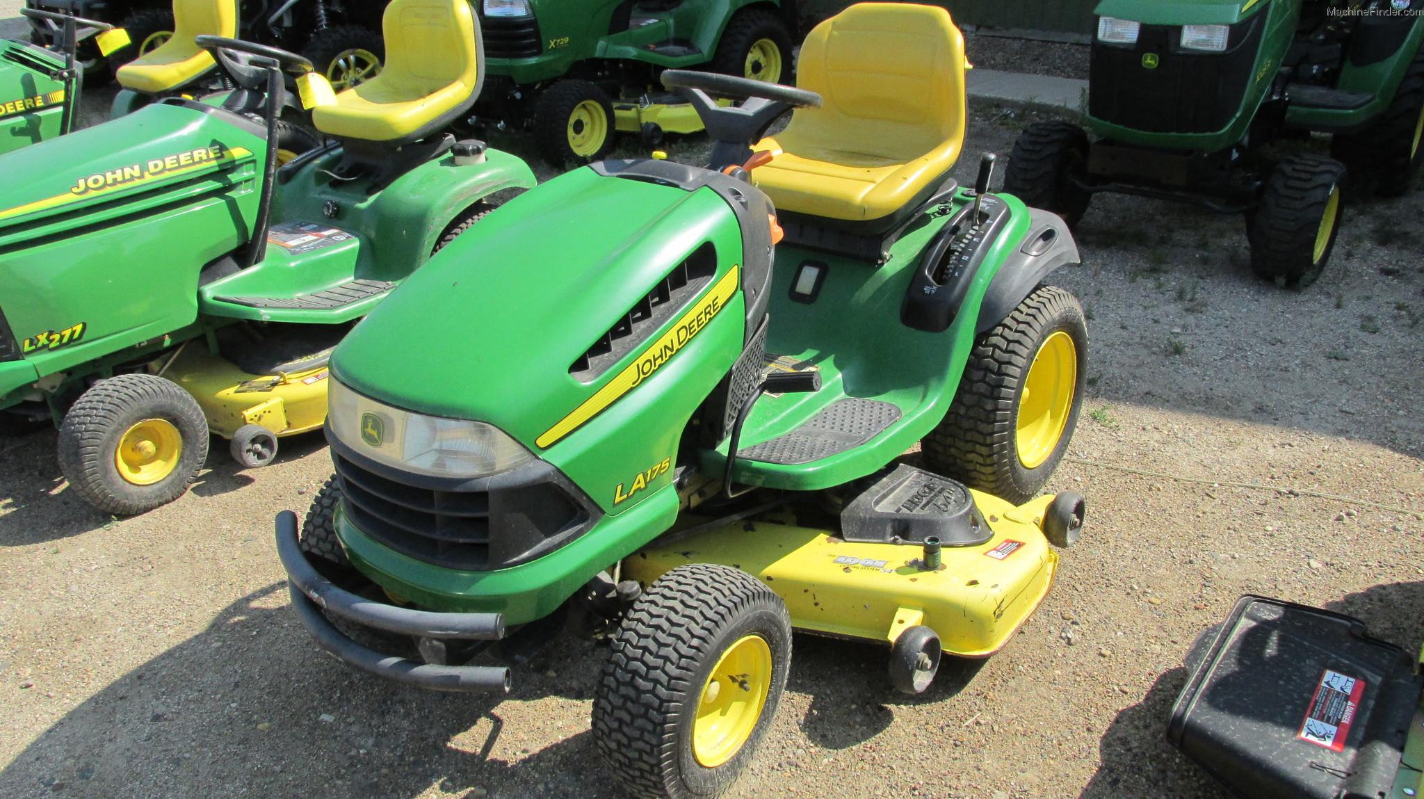 2008 John Deere La175 Lawn Amp Garden And Commercial Mowing