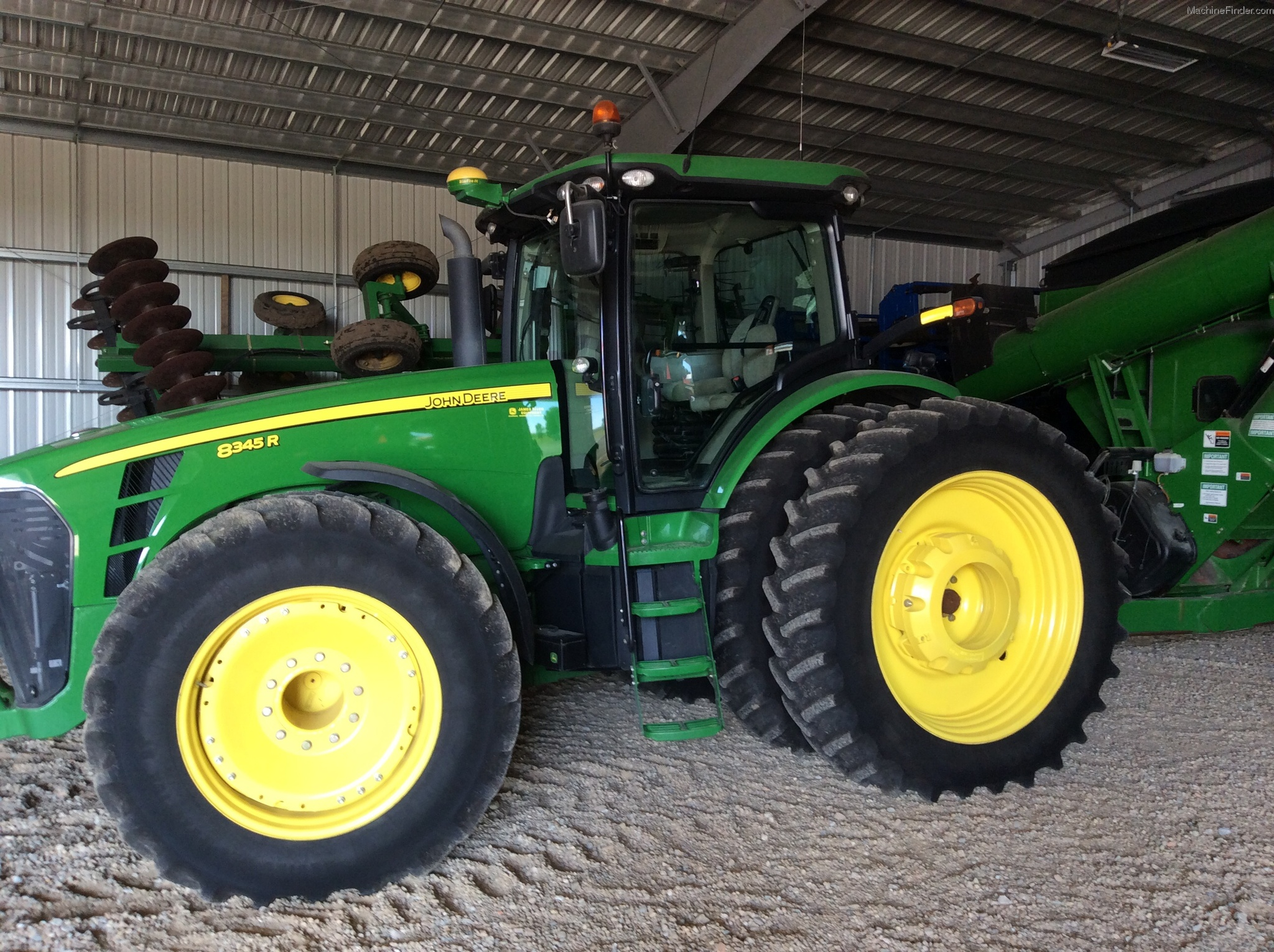 john deere 8345r weight loss