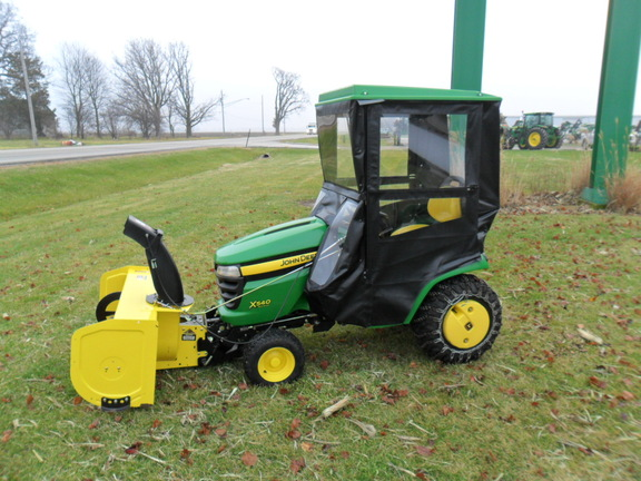 John deere x540 lawn garden tractors for sale 53356 for Garden machinery for sale