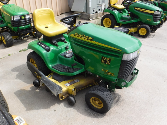 Custom Lawn Tractor Hood : John deere lx lawn garden tractors