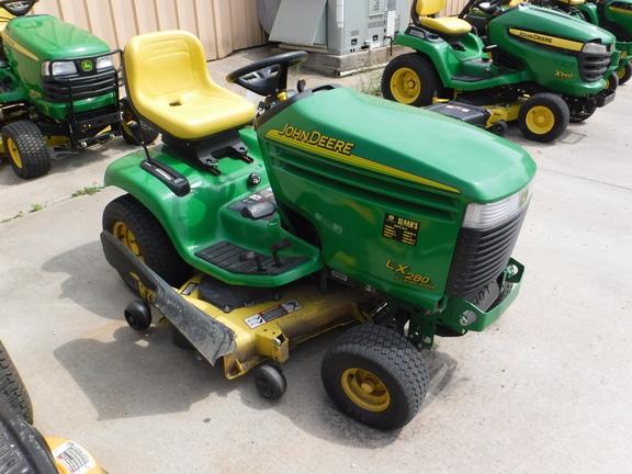 john deere lx280 lawn garden tractors for sale 58672. Black Bedroom Furniture Sets. Home Design Ideas