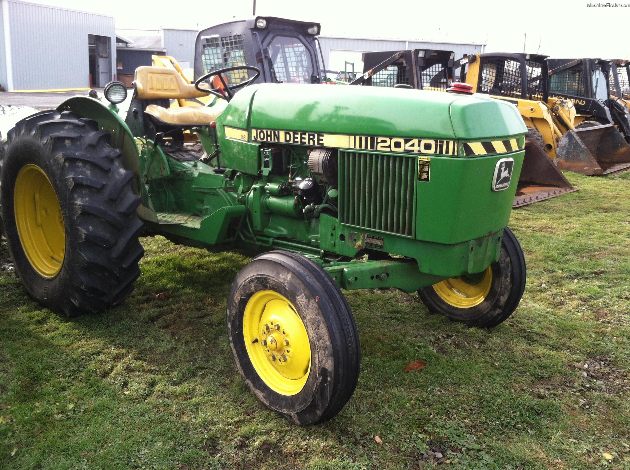 John Deere 40 Parts : John deere tractors utility hp