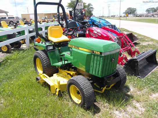 1991 john deere 755 tractors compact 1 40hp john deere machinefinder. Black Bedroom Furniture Sets. Home Design Ideas