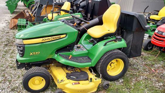 John Deere X530 Lawn Tractor : John deere lawn garden tractors