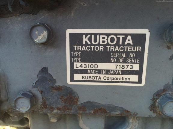 Kubota L4310