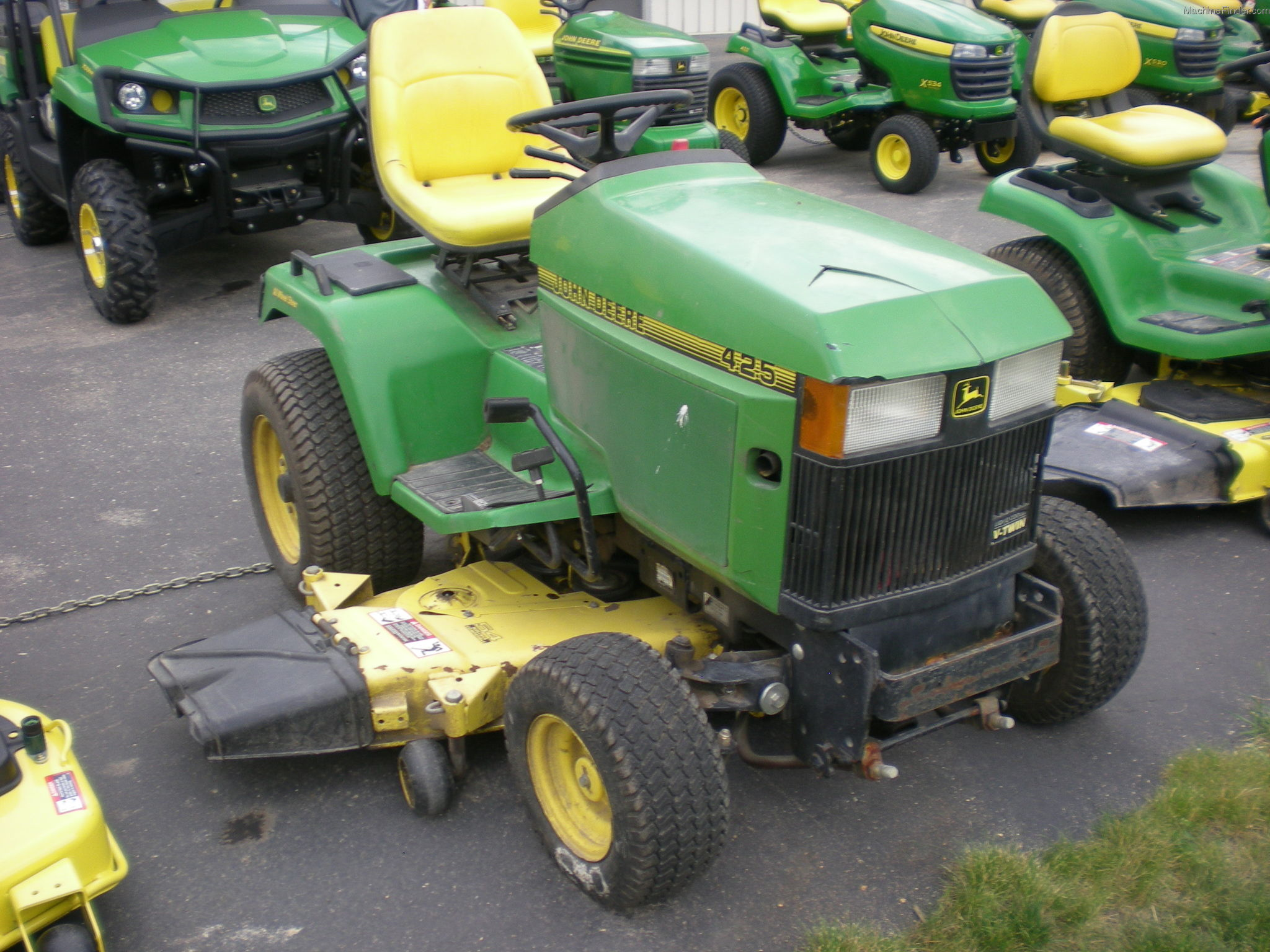 John Deere 425 Replacement Parts : John deere parts series