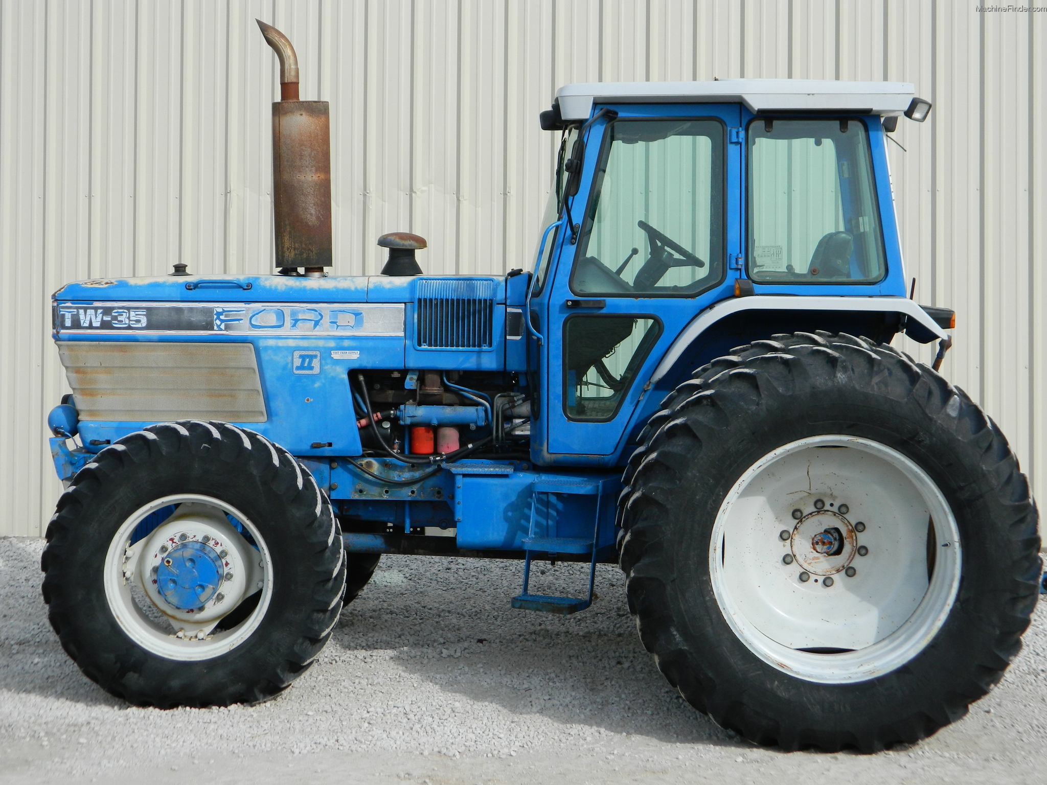 Ford Tw 35 Tractor Parts : Ford tw tractors row crop hp john deere