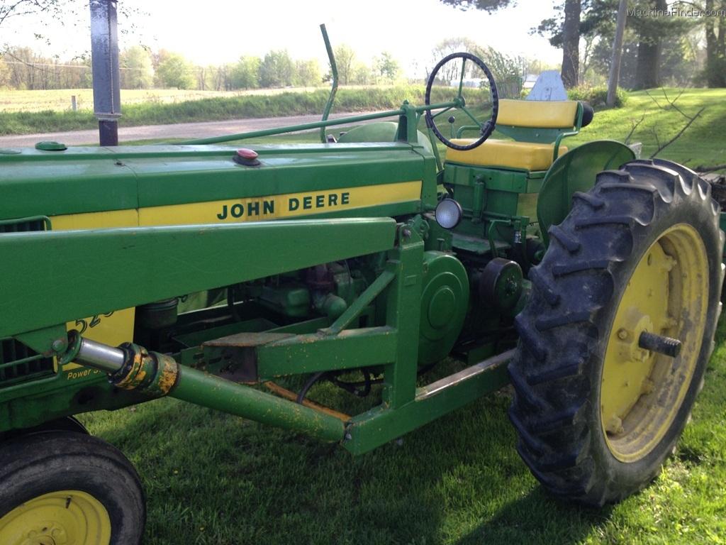 John Deere 520 Tractor Clutch : John deere tractors row crop hp