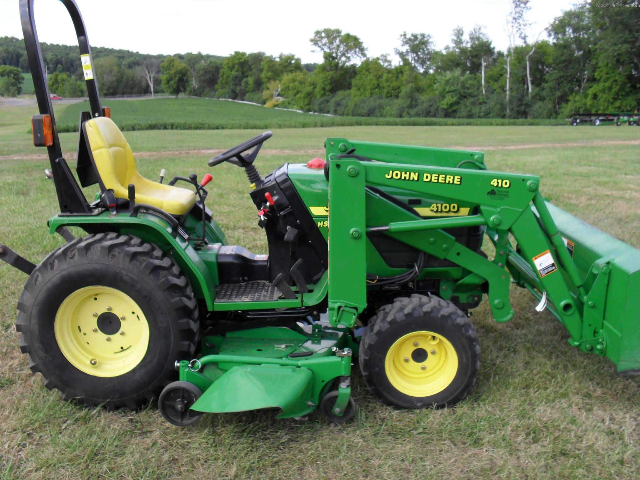 2001 John Deere 4100 Tractors - Compact (1-40hp.)