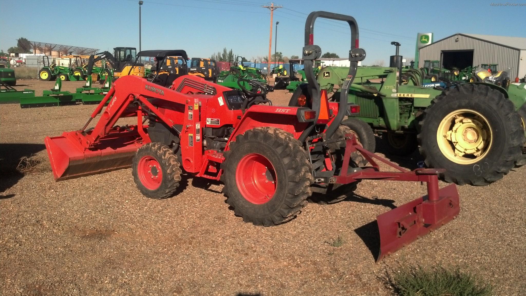 L3400 Kubota Tractor W Loader : Kubota l tractors utility hp john