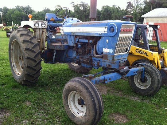 Ford 7000 Tractor : Ford tractors utility hp john deere