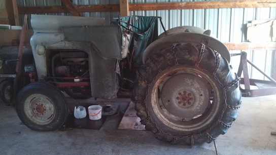 Ford 850 Tractor Serial Numbers : Ford tractors compact hp john deere