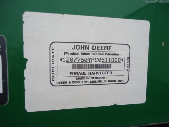 John Deere 7750