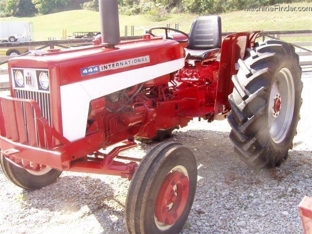International Harvester 444 Tractor Parts : International harvester wd tractors utility