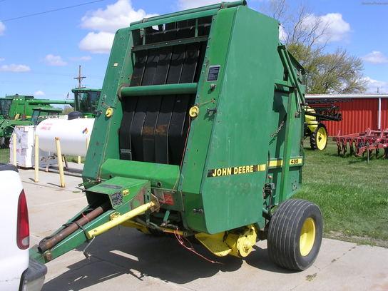 John Deere 435 Hay Baler parts Service manuals