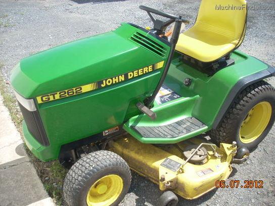 John Deere Gt262 : John deere gt lawn garden and commercial mowing