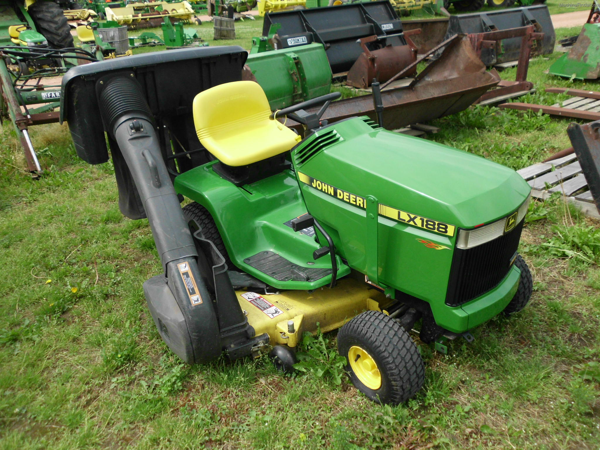 John Deere Lx188 Mower Deck Parts : John deere lx lawn garden and commercial mowing