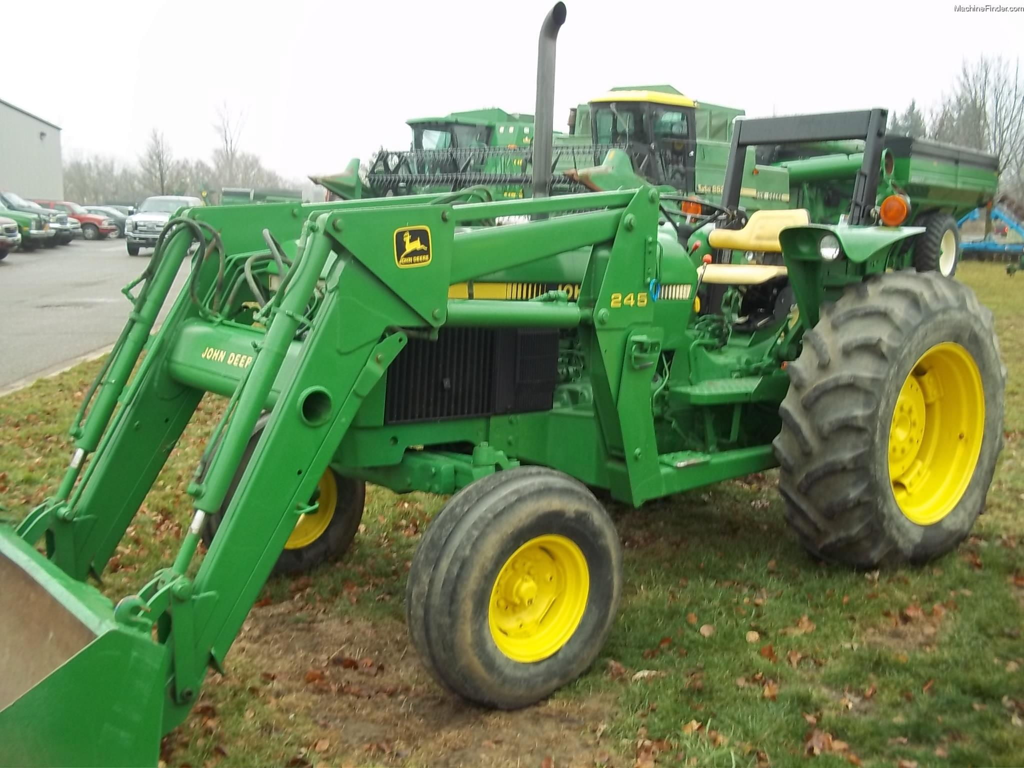 1991 John Deere 2755 Tractors - Utility (40-100hp)