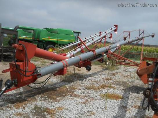 Peck 1003 GRAIN AUGER W/SWING HOPPER