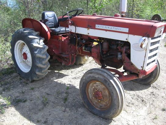 1960 International Tractor : International tractors compact hp john