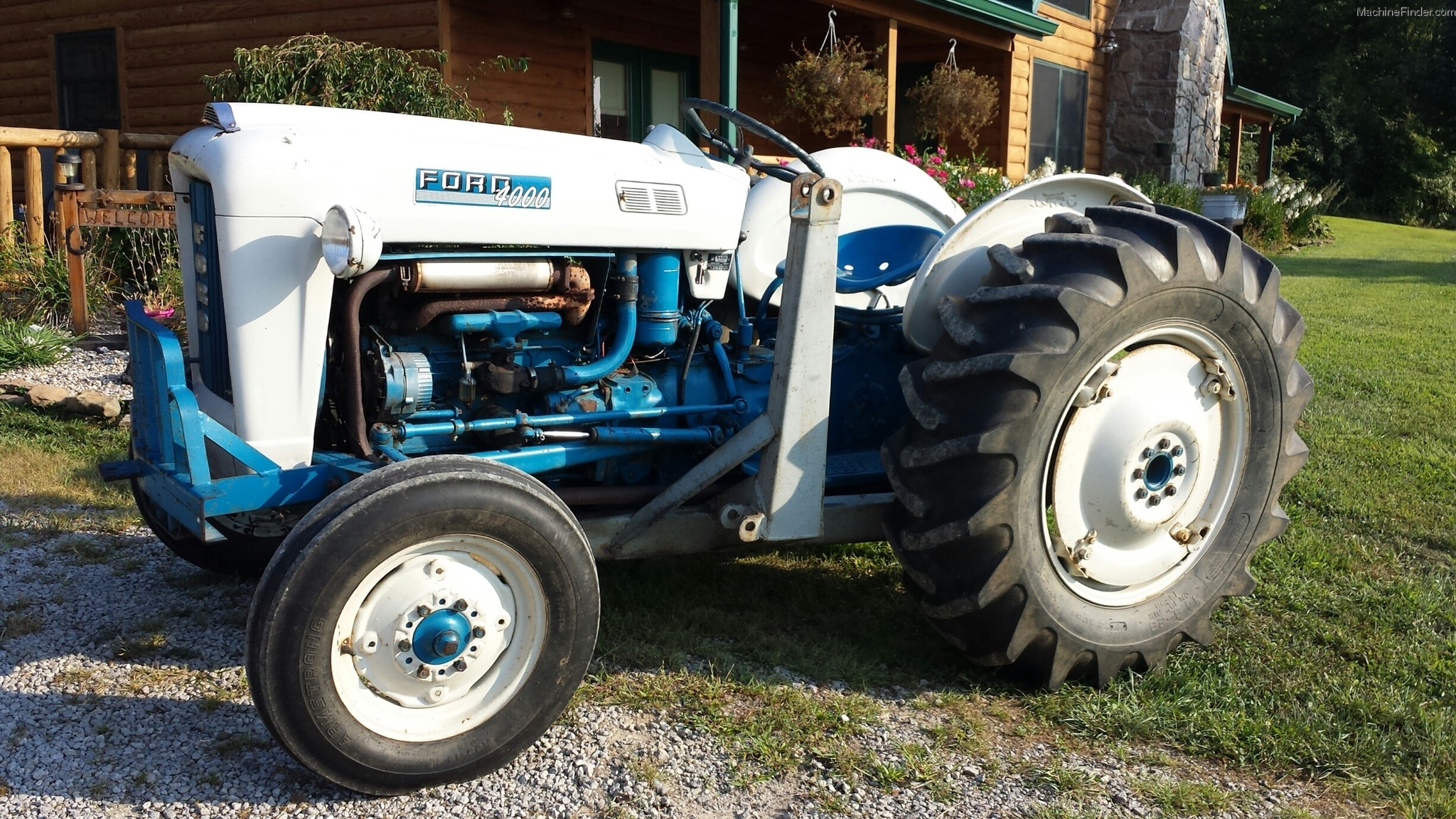 Ford Tractor Pto No 1962 : Ford tractors utility hp john deere