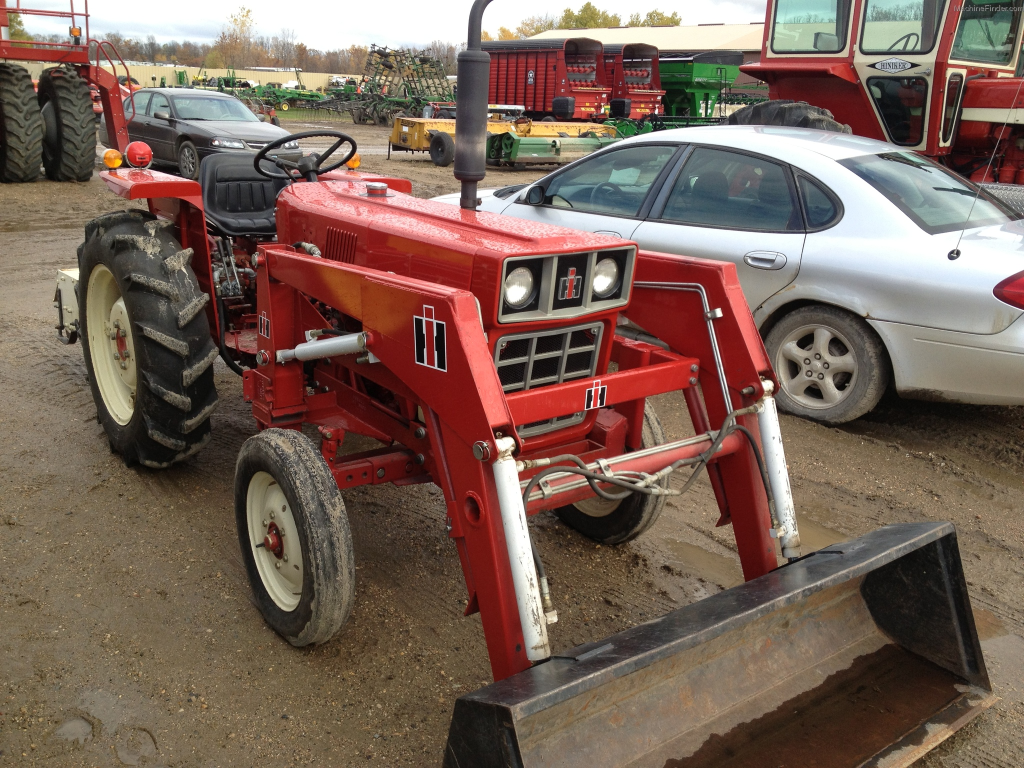 International 284 Tractor Parts : International harvester tractors compact