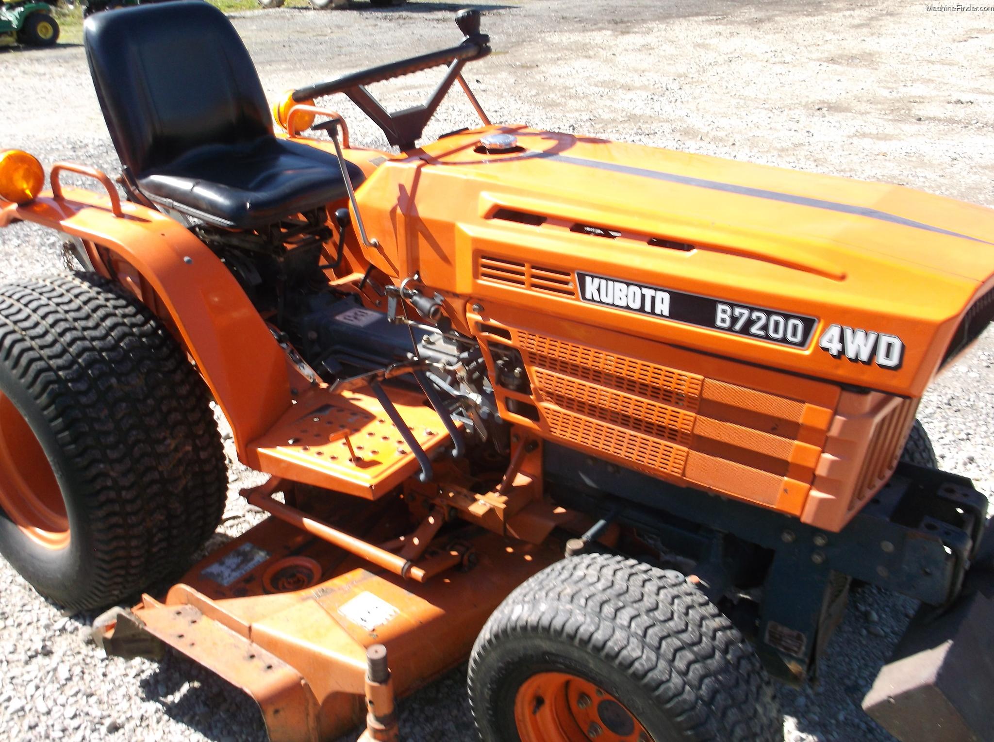 1986 Kubota B7200 Tractors Compact 1 40hp John