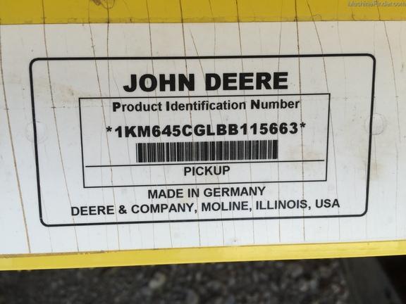 John Deere 645C