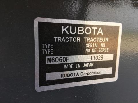Kubota M6060