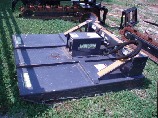 Other NEW AMMBUSHER 5ft SKID STEER ROTARY CUTTER AVAIL FOR RENT $135DAY $400WK $1200MO