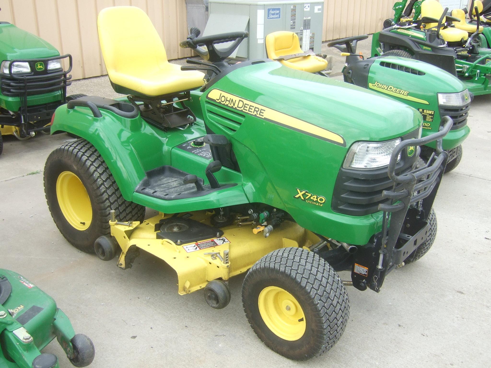 John Deere 740 Tractor : John deere lawn garden tractors for sale