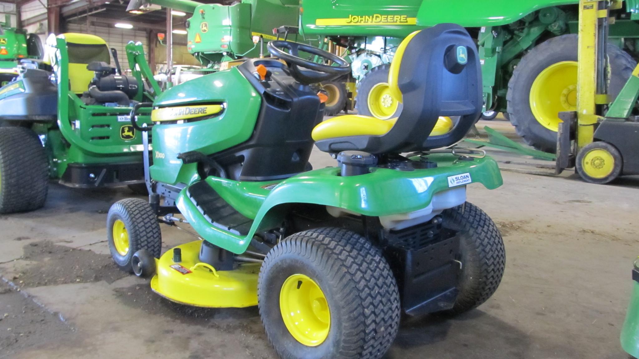 John Deere X300 Lawn Garden Tractors For Sale 65665