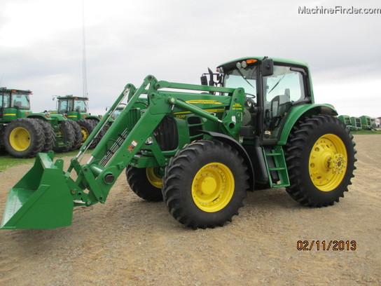 2011 John Deere 7330 Tractors Row Crop 100hp John