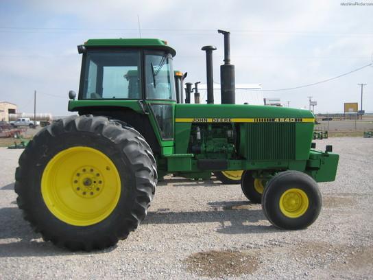 John Deere 4840 : John deere tractors row crop hp