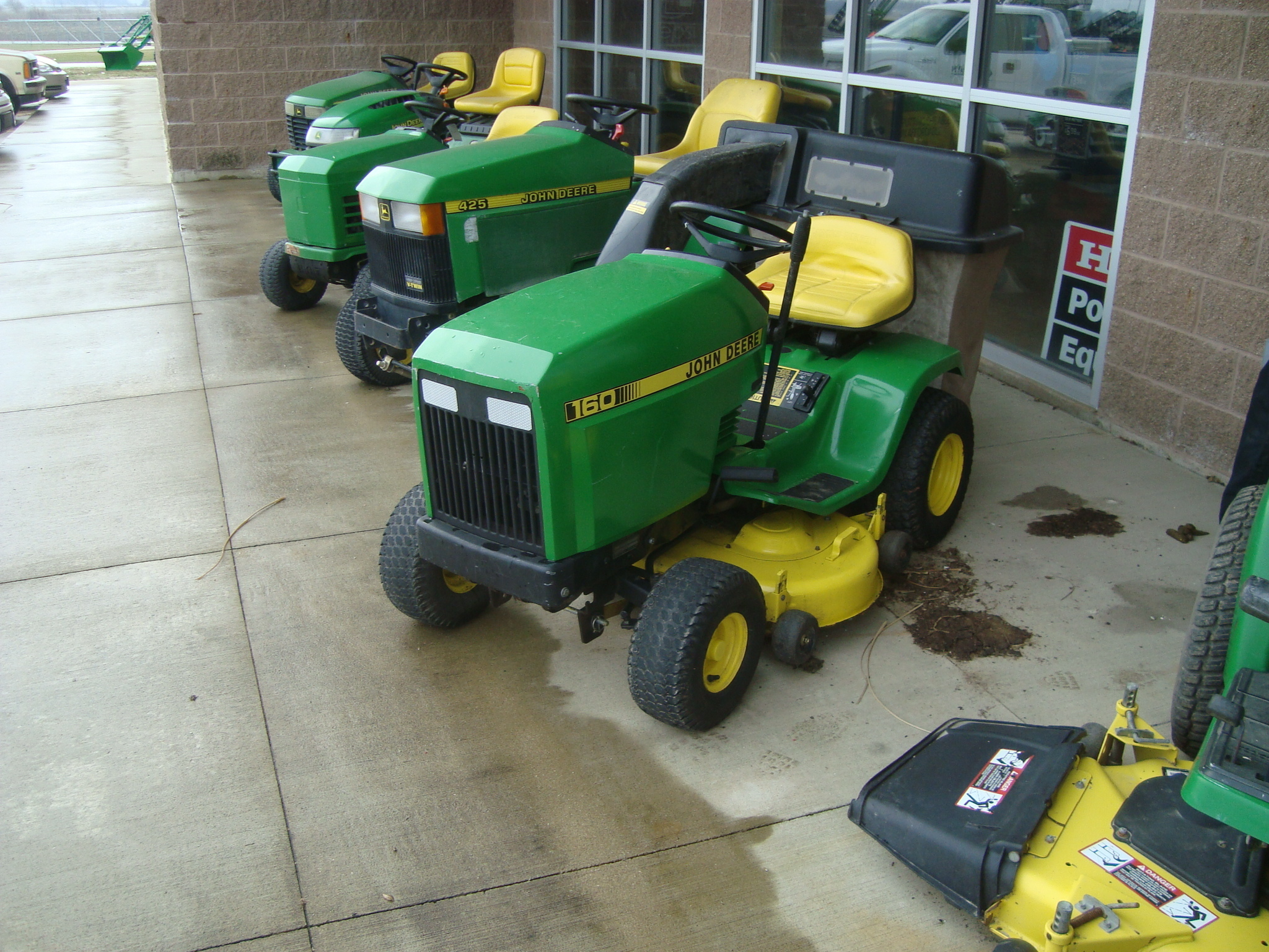 John deere 160 lawn garden tractors for sale 40448 for Garden machinery for sale