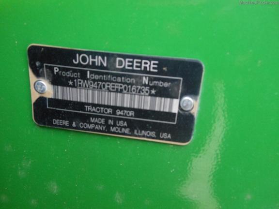 John Deere 9470R