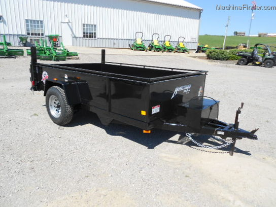 2012 Other HOMESTEADER 8ft DUMP TRAILER WITH ELECTRIC DUMP