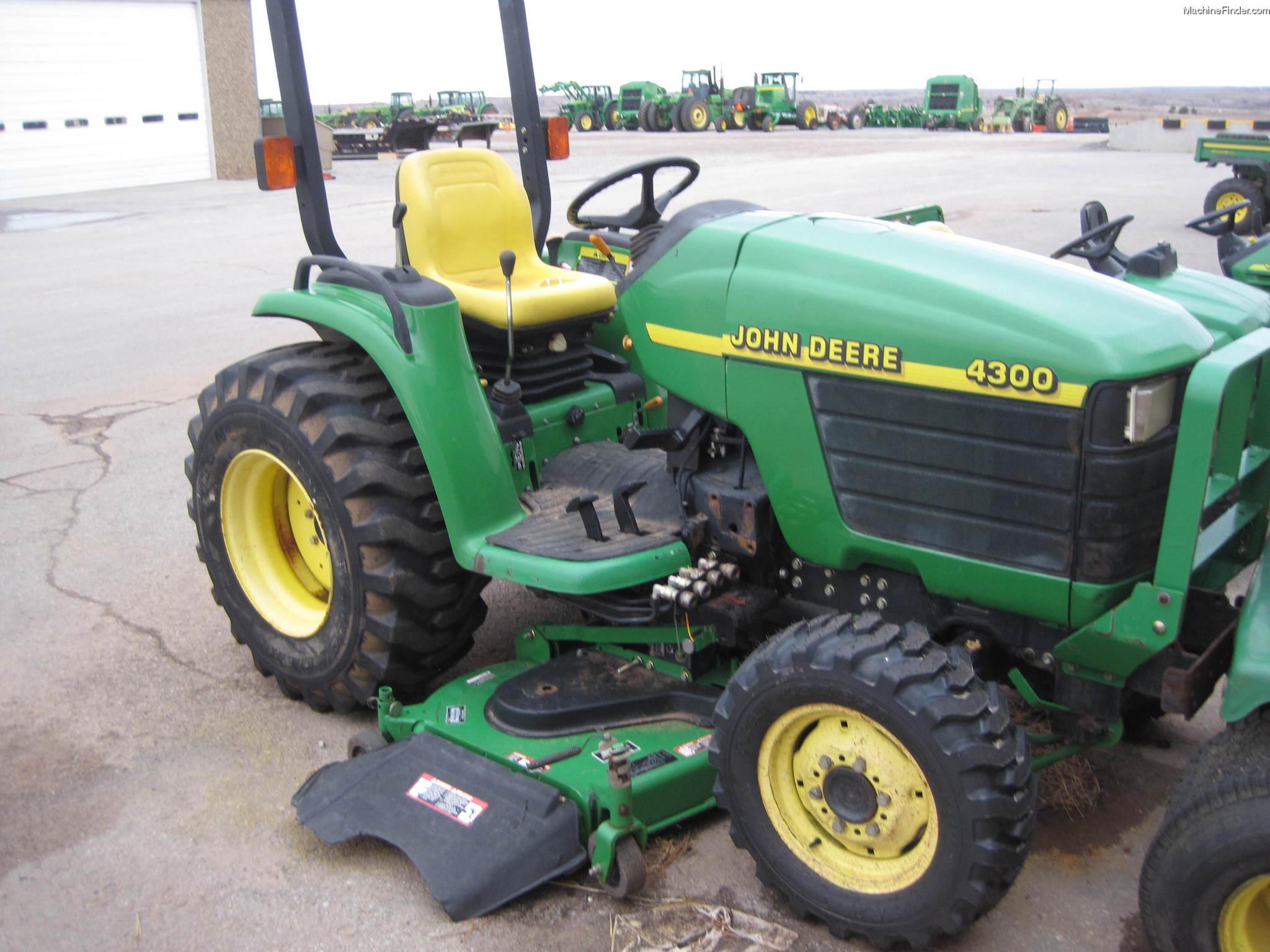 2001 John Deere 4300 Tractors - Compact (1-40hp.)
