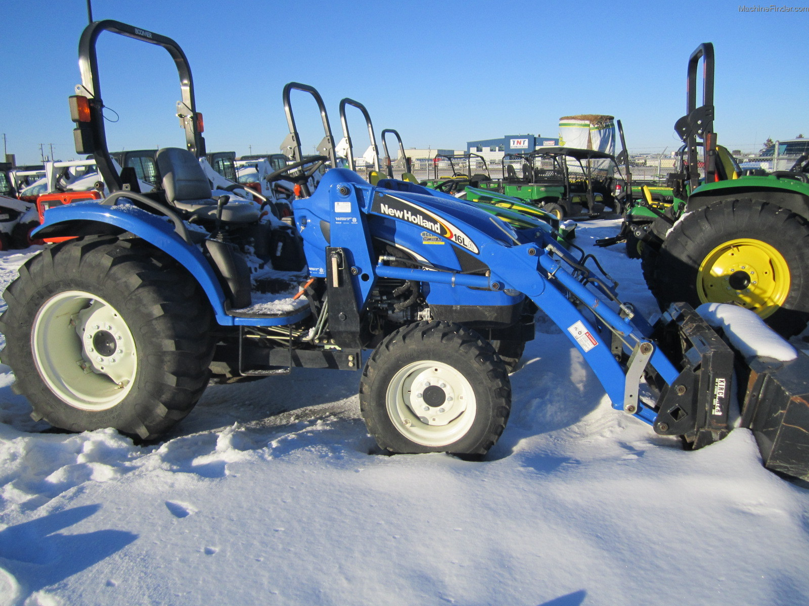 New Holland Compact Utility Tractor : Ford new holland compact utility tractors