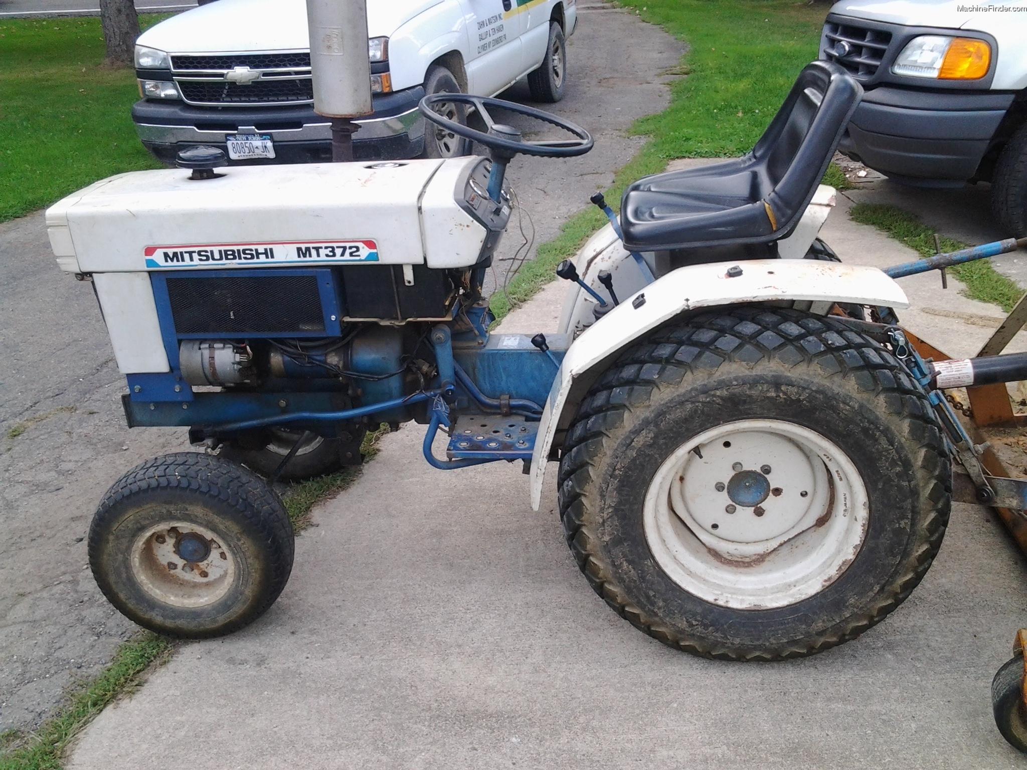 Mitsubishi Tractor Mt Parts : Mitsubishi mt tractors compact hp john