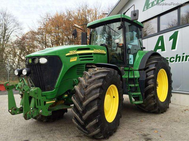 2004 john deere 7820 allrad traktor tractors row crop. Black Bedroom Furniture Sets. Home Design Ideas