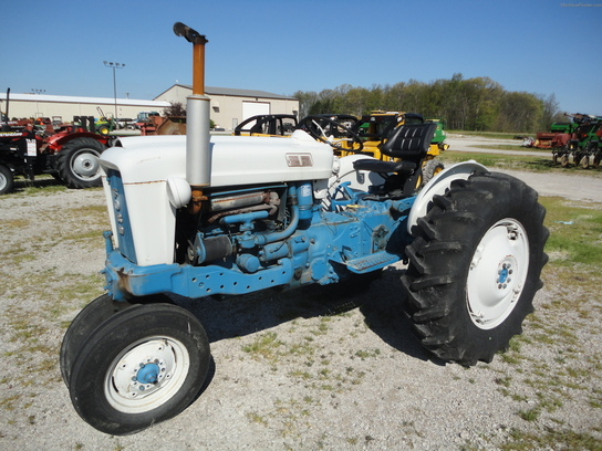 Ford 4000 Tractor Parts : Ford industrial tractor
