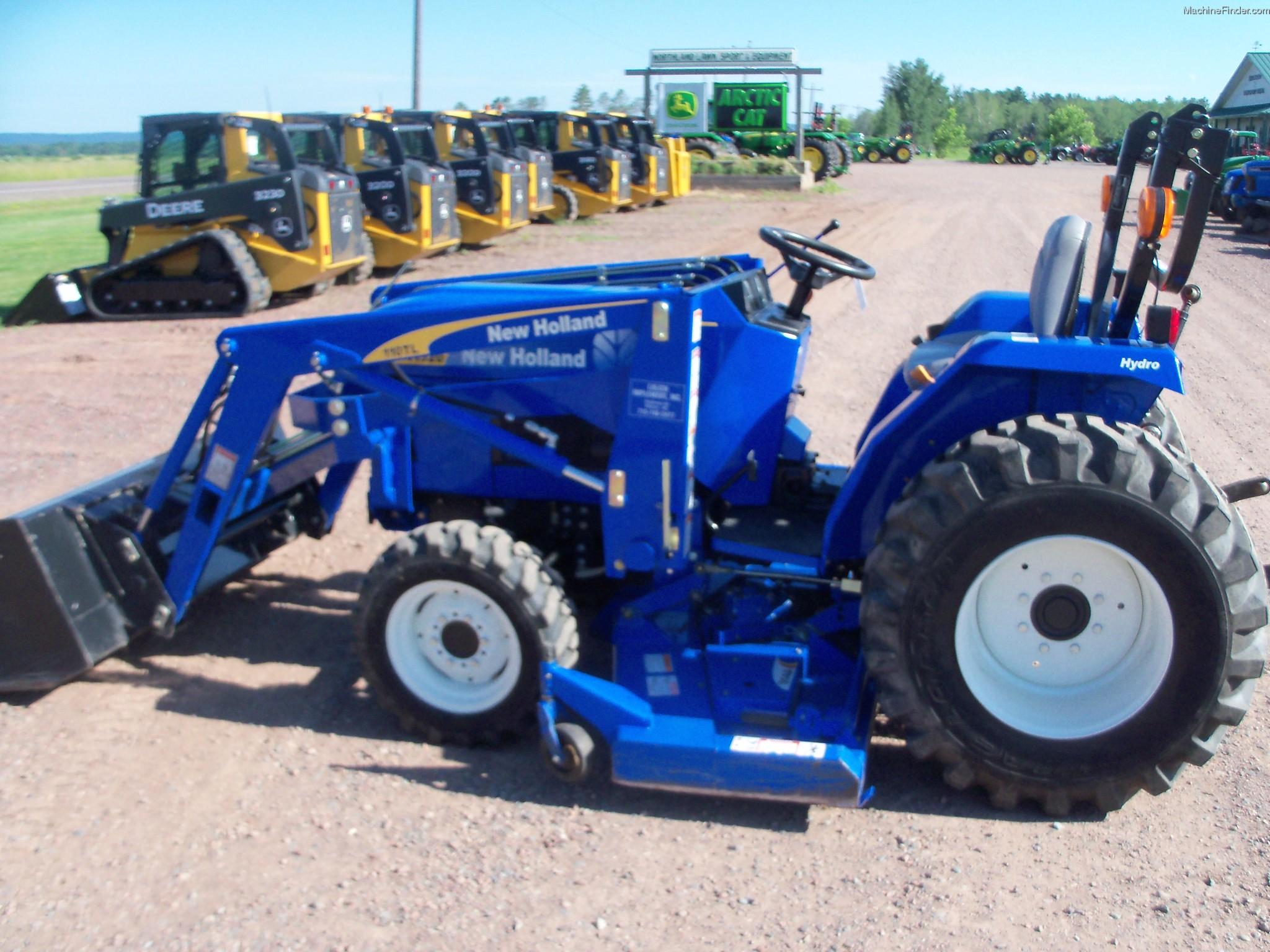 New Holland Compact Tractors Parts : New holland t tractors compact hp john