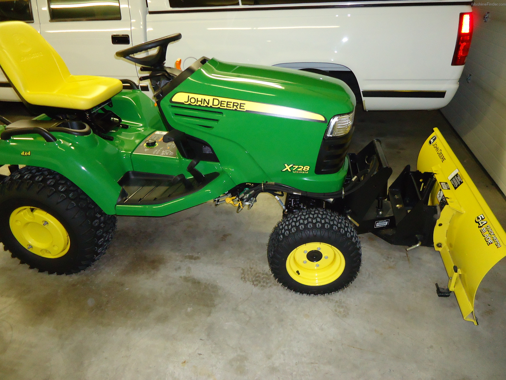 2012 John Deere X728 Lawn Amp Garden And Commercial Mowing