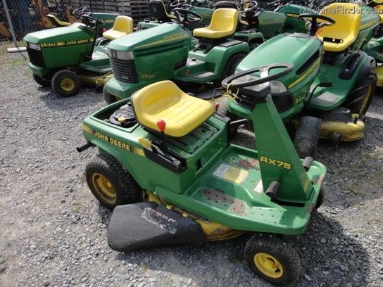 John Deere RX75 riding lawn mower - RonMowers