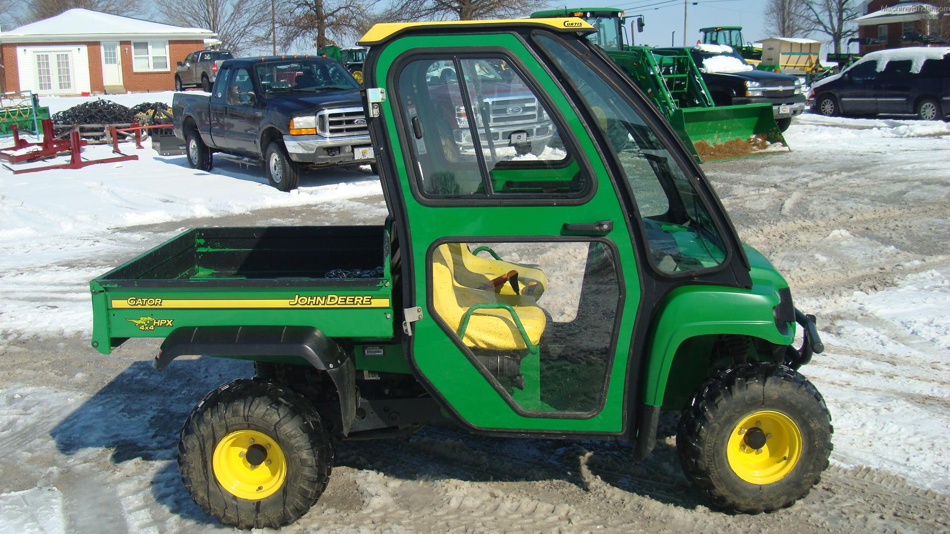 2005 John Deere Hpx Diesel Atv U0026 39 S And Gators