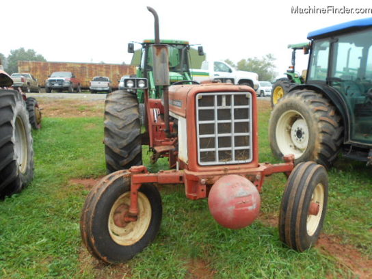 1973 International Tractor : International harvester tractors utility